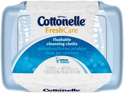 kleenex cottonelle freshcare flushable cleansing cloths hy vee aisles  grocery shopping