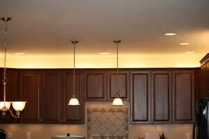 Above Kitchen Cabinet Lighting Over Cabinet Lighting Lights To Use Above Or On Top Of