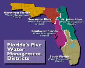 south florida water management district map major powell and the water management districts watery