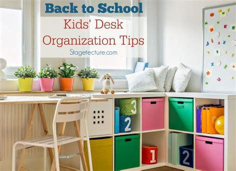 17 best ideas about desk organization tips on