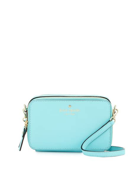 Kate Spade Cedar Maise Atoll Blue kate spade new york cedar carine crossbody bag atoll blue neiman