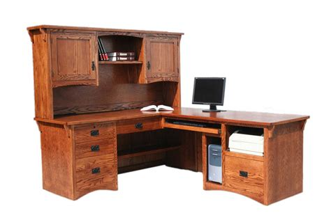 Solid Oak Home Office Furniture Oak Office Desks Style Yvotube