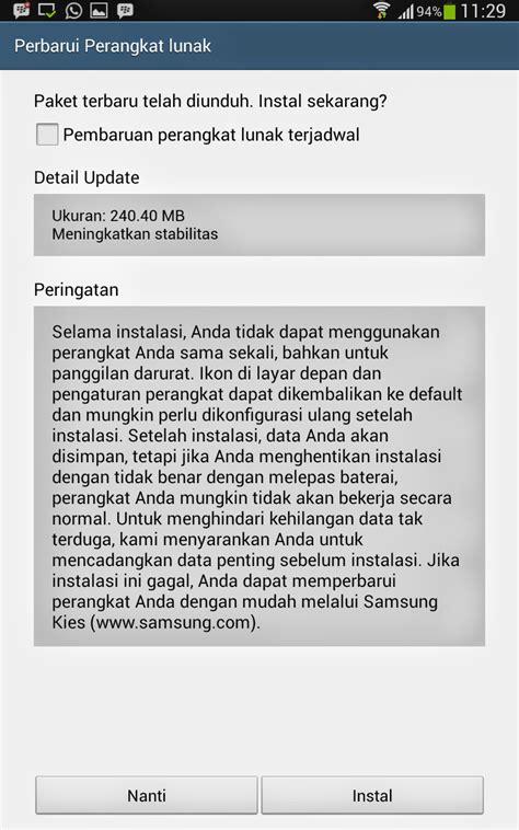 Update Terbaru cara update os android terbaru di smartphone dan tablet berbagi info teknologi aplikasi