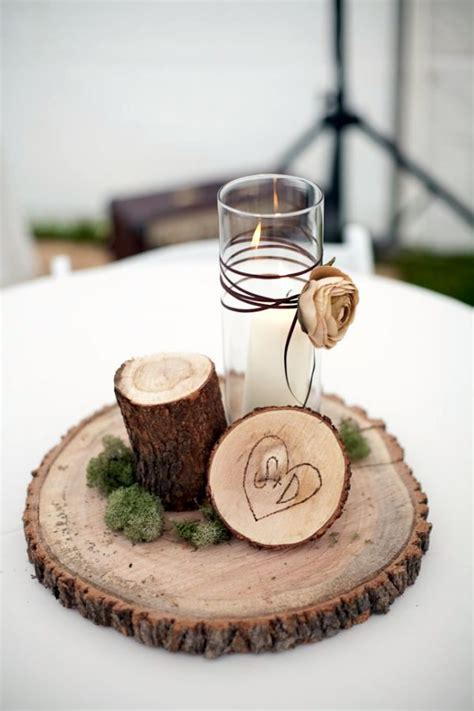 wood decorations for home diy exclusive collection of winter wedding decor ideas