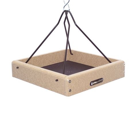 shop birds choice recycled plastic platform bird feeder at