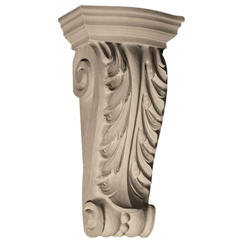 Resin Corbels Pearlworks Cb 218 Acanthus Leaf With Resin Corbel