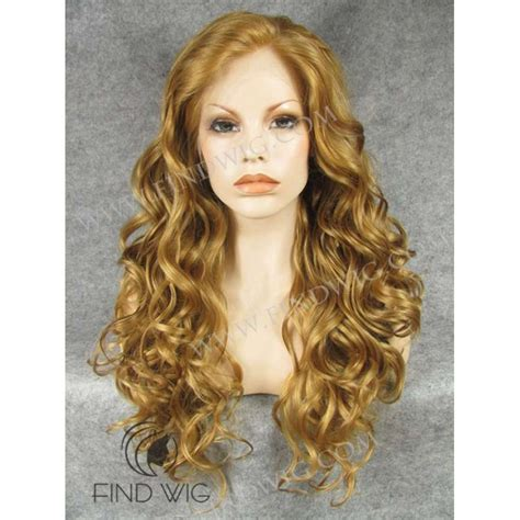 blonde highlighted wigs highlighted wig wavy blonde gold highlighted long wig