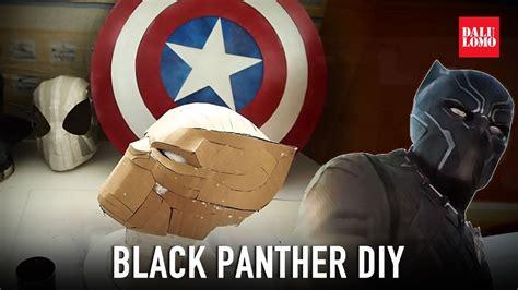 make black panther helmet part 1 template amp cardboard