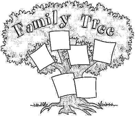 trees more coloring book books family tree for coloring buscar con proyectos