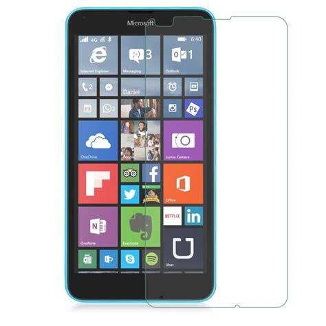 Screen Guard Tempered Glass Microsoft Lumia 640 High Quality genuine shockproof tempered screen guard protector saver