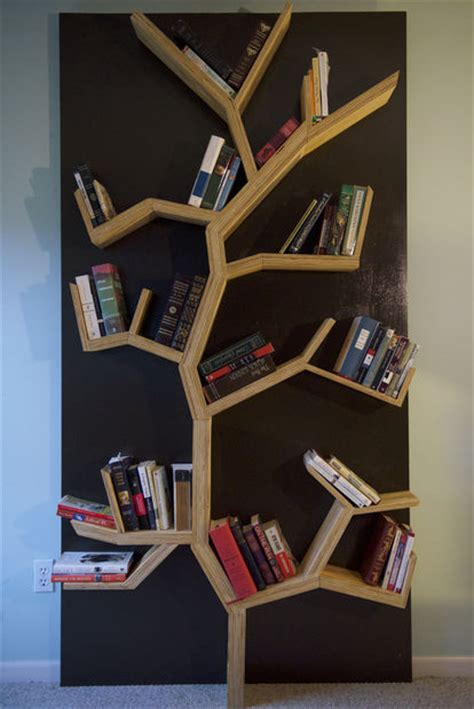 tree bookshelf diy shelves room and house
