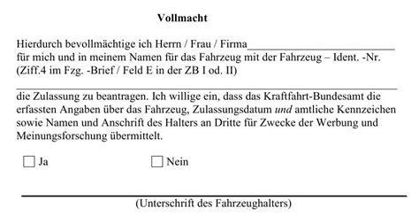 Auto Abmelden Schweiz Versicherung by Auto Ummelden Vollmacht Automobil Bau Auto Systeme
