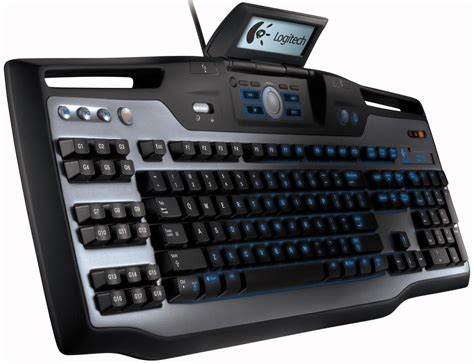 Keyboard Pc Logitech logitech launches g15 keyboard for gamers with lcd display