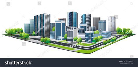 design concept cabanatuan city green city design lifestyle metropolis concept stock