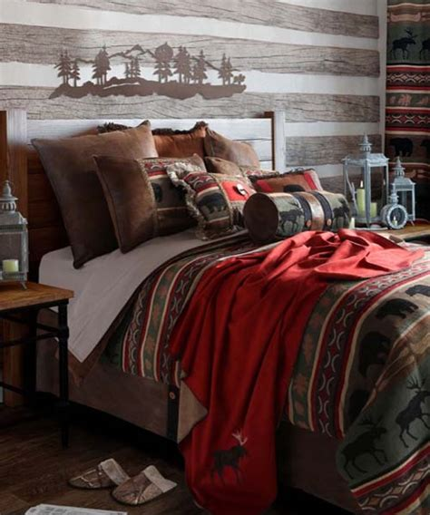 wildlife bedding carstens wildlife bedding collection rustic bed set