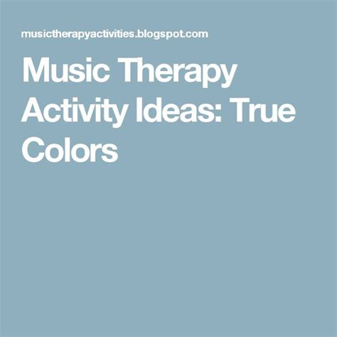 true colors activity 17 best ideas about therapy on asd