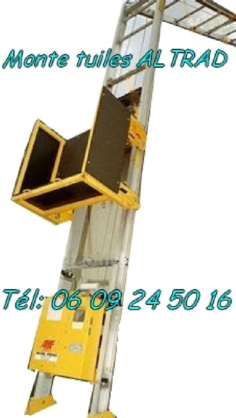Leve Tuile by Monte Tuiles L 232 Ve Mat 233 Riaux Altrad 15m Charge 150kg Negoce