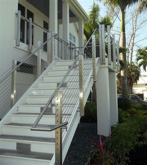 exterior banister exterior railings for steps home design