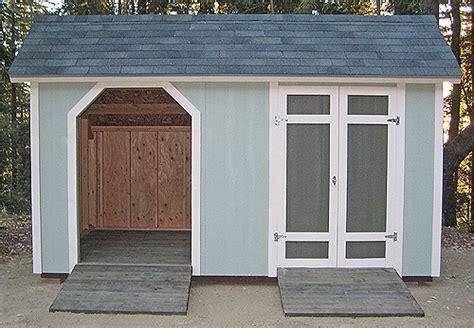 california custom sheds 8x14 custom salt box shed