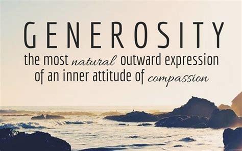 Generosity Quotes Generosity Sayings Generosity