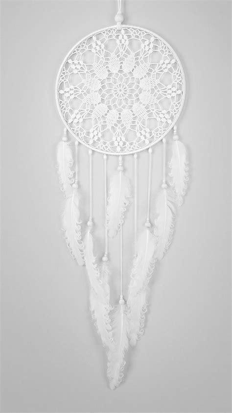 large white handmade catchers handmade