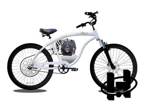 Honda Cycles by Honda Powered Bicycle Four Stroke Bike 4 Cycle Bicycle
