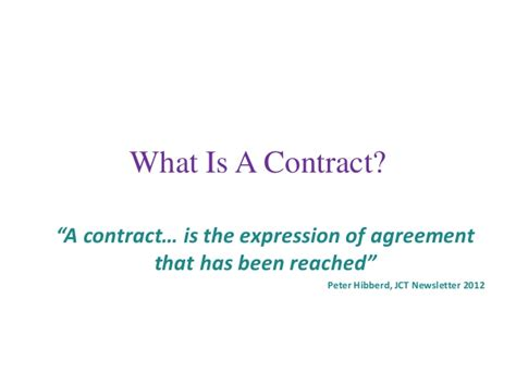 Jct Contract Letter Of Intent 3 Tips To Use Clarity To Avoid Contract Disasters