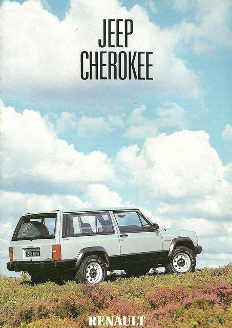 renault jeep renault jeep cherokee 1985 cars trucks etc