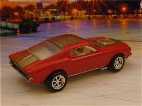 Hotwheells 68 Mustang Merah 1 wheels 1968 68 ford custom mustang 1 64 scale limited edition a ebay