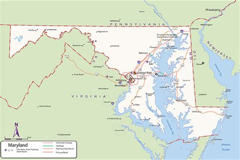 maryland map picture map of maryland pictures to pin on pinsdaddy