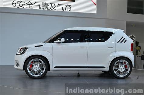 Suzuki Im Suzuki Im 4 Side View Left At Auto Shanghai 2015 Indian