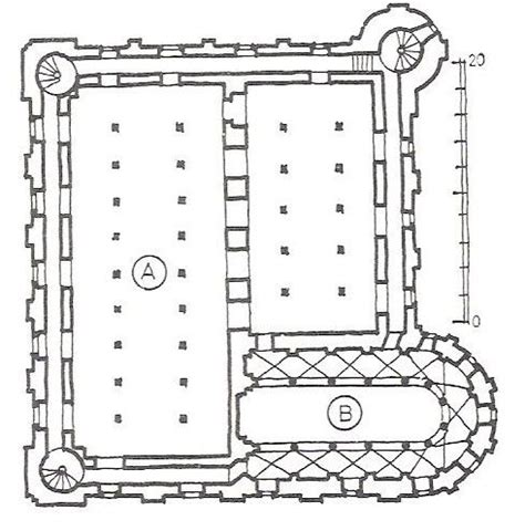 tower of london floor plan romanesque architecture england plan of the tower at