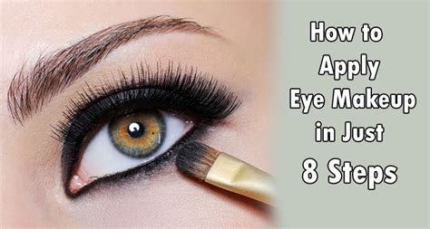 Eyeshadow How To Apply apply eye makeup step by step makeup vidalondon