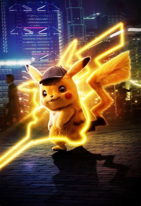 wallpaper pikachu pokemon detective pikachu animation