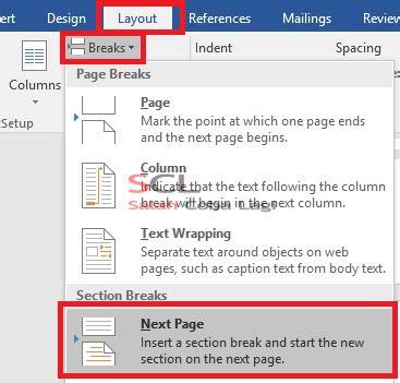 cara membuat nomor halaman tanpa cover cara mengatur nomor halaman pada microsoft word 2016