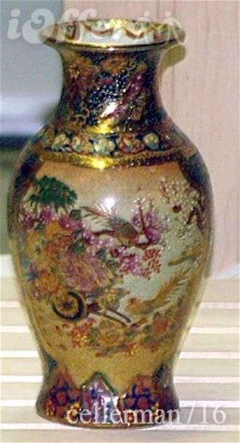 royal satsuma vase antique 1870 vase royal satsuma geisha s mint by
