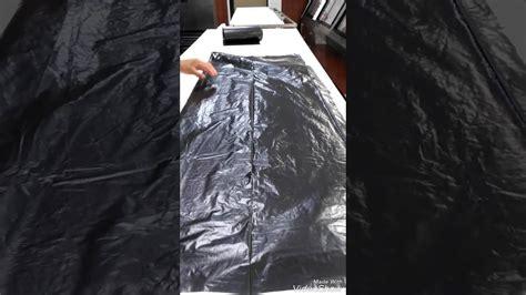 como hacer unas alas con bolsas de basura o carton de pajaro como hacer un mandil de una bolsa de basura youtube
