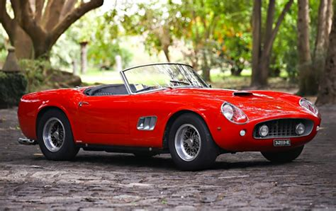 ferrari california 1961 1961 ferrari 250 gt swb california spyder up for auction