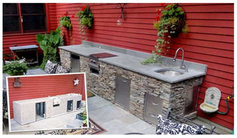 how to build an outdoor kitchen island outdoor kitchen