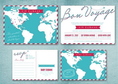 Travel Baby Shower Invitations Travel Baby Shower Invitation Adventure Planning