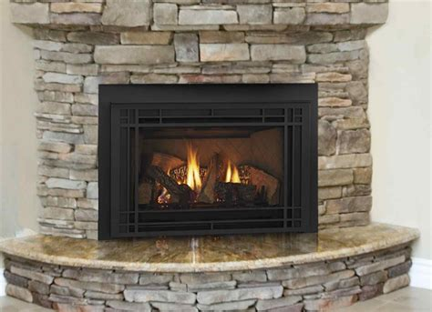 Fireplace Insert Ideas by Modern Ventless Gas Fireplace With White Soft Carpet Gas