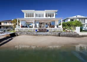 Beachfront House Plans airy beachfront home with contemporary amp casual style
