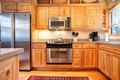 Kitchen Pine Cabinets Pine Kitchen Cabinets Ideas For You To Choose From Inertiahome