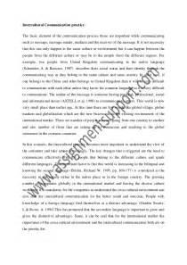 International Marketing Essay by Intercultural Communication Essay Intercultural Communication A Teaching And Learning Framework