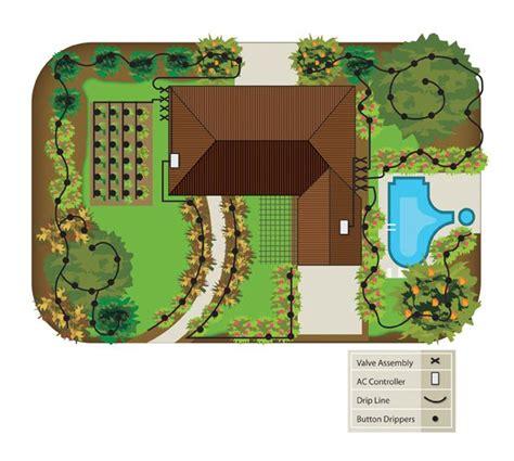 1000 Ideas About Drip Irrigation On Pinterest Garden Sprinkler System Design