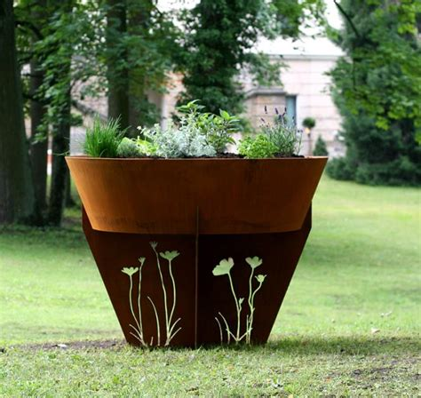 Moderne Hochbeete by Hochbeete Kaufen Aus Holz Metall Kunststoff Und Stein