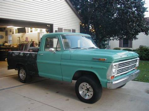 rust free pickup beds find used 1968 ford f100 non running 90 rust free short