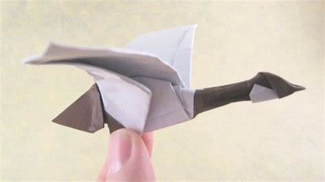 Origami Paper Canada - origami canada goose by diaz folded by gilad aharoni