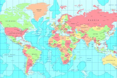world map including capital cities capital city world map wall mural muralswallpaper co uk