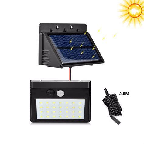 pir motion sensor modes separable led solar light novelty